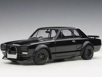 AUTOart 87278 Nissan Skyline GT-R KPGC-10 Racing 1972 1:18 Black