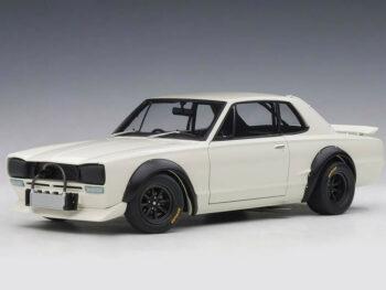 AUTOart 87279 Nissan Skyline GT-R KPGC-10 Racing 1972 1:18 White