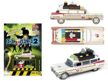 Johnny Lightning JLCP7024 50th Anniversary Ghostbuster Ecto 1A 1959 Cadillac Eldorado 1:64 Dirty Version