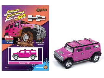 Johnny Lightning JLCP7210 Hummer H2 1:64 Limited Edition 2,400 Pink