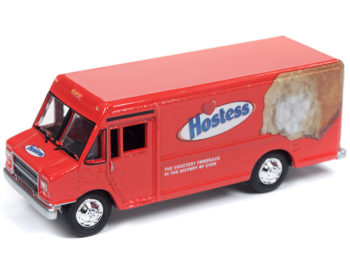 Johnny Lightning JLSP062 Hobby Exclusive 1990 Gmc Step Van 1:64 Hostess Twinkies Red