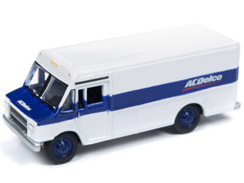 Johnny Lightning JLSP063 Hobby Exclusive 1990 Gmc Step Van 1:64 Acdelo Blue White