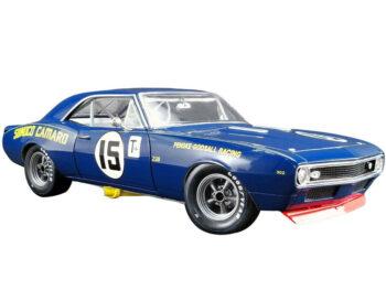 Gmp 18833 1967 Chevrolet Camaro Z/28 #15 Mark Donohue Sunoco Penske Godsall 1:18 Blue