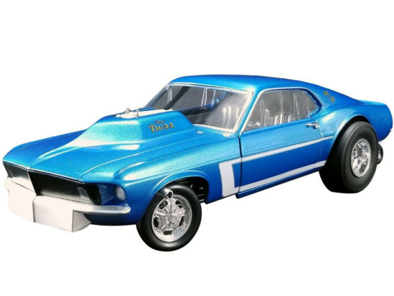 Gmp 18913 The Boss 1969 Ford Mustang Gasser 1:18 Blue