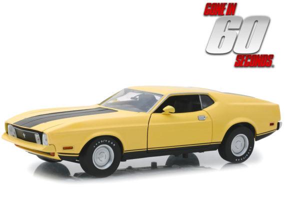 Greenlight 12910 Gone in 60 Seconds Eleanor 1973 Custom Mustang 1:18 Yellow