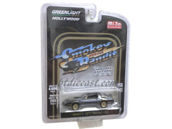 Greenlight 51223 Smokey & Bandit 1977 Pontiac Trans AM T/A 1:64 Black Chrome