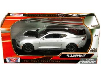 Motormax 79351 2017 Chevy Camaro ZL1 1:24 Silver