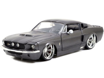 Jada 97411 Bigtime Muscle 1967 Ford Shelby GT 500 1:24 Grey