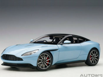 AUTOart 70268 Aston Martin DB11 1:18 Q Frosted Glass Blue