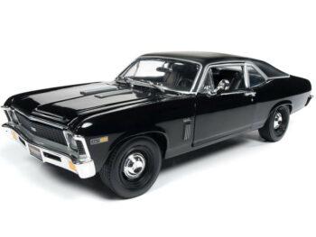 Autoworld Amm1178 1969 Chevrolet Yenko Nova ss 1:18 Black Mcacn