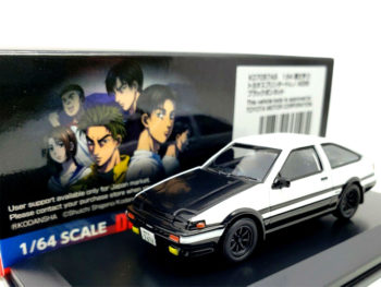 Kyosho K07057A5 Initial D Movie Edition Totota Trueno AE86 1:64 White