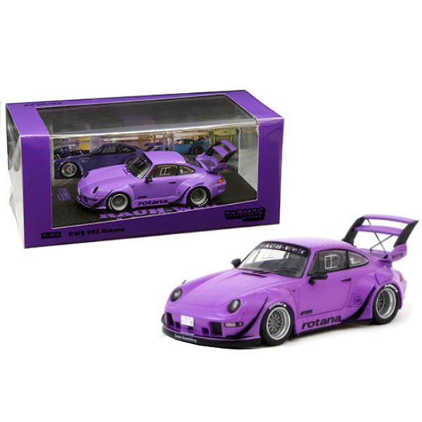 RWB 993 Rotana Purple RAUH-Welt BEGRIFF 1//43 Diecast Model Car by Tarmac Works T43-014-RO