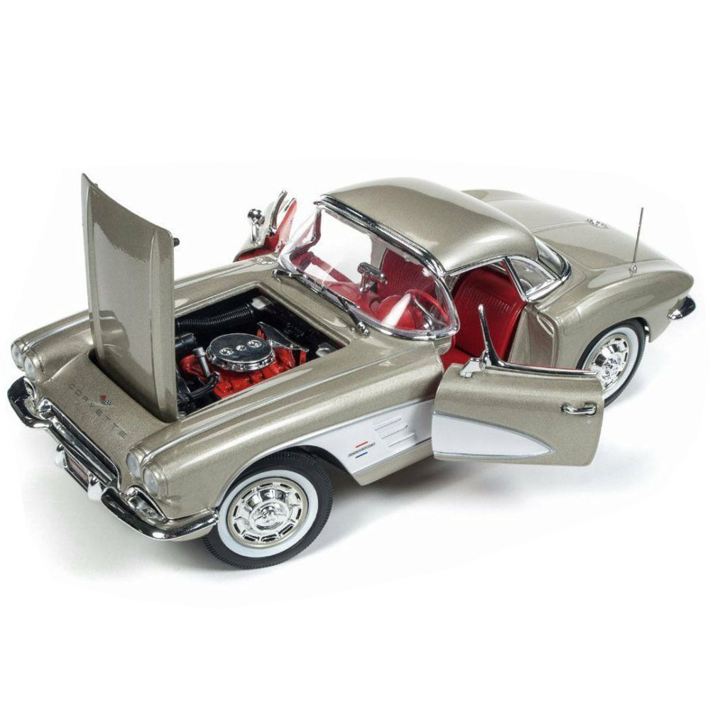 Autoworld Amm1151 1961 Chevrolet Corvette Hard Top 1:18