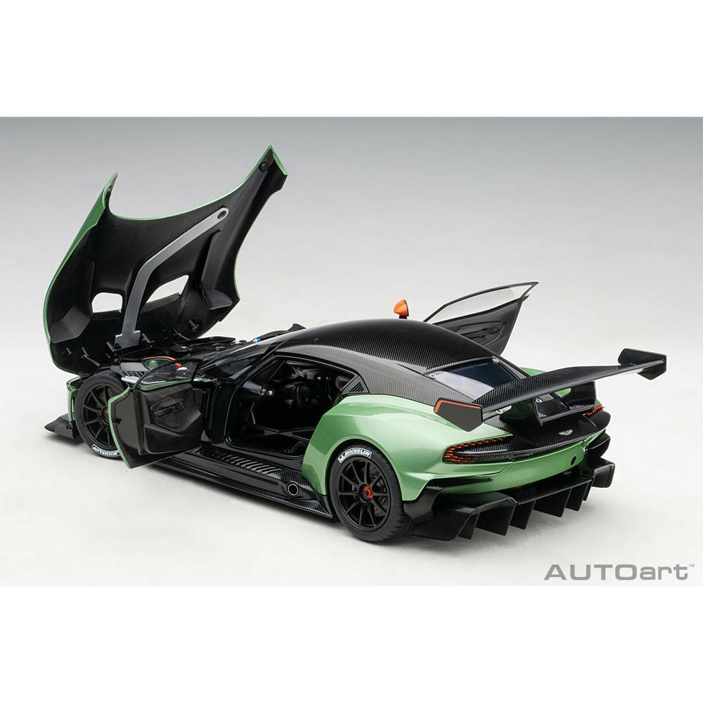 Modellbau Autoart 70263 1 18 Aston Martin Vulcan Apple Tree Green Metallic Neu Tanjakoester