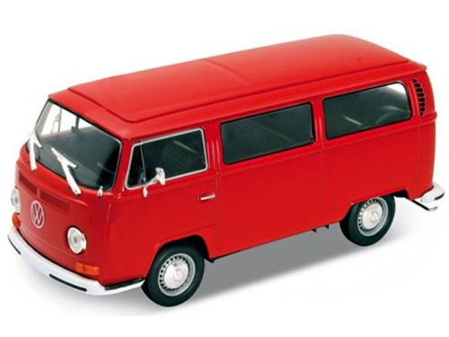 Volkswagen T2 Minibus 1972 Ivory Welly 1:24 WE22472I