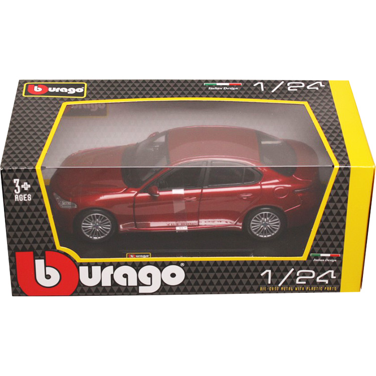/Scala 1//24 Bburago/ /Alfa-Romeo Giulia/ /21080bl/ /2016/