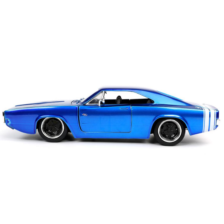Bigtime Muscle 1:24 1968 Dodge Charger Die-cast Car Toys for Kids and Adults